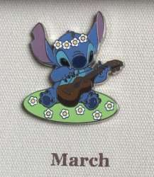Stitch Playing a Ukelele