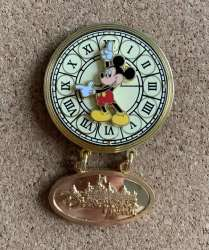 Mickey Mouse on a watch