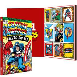 Captain America Retro Pin Set
