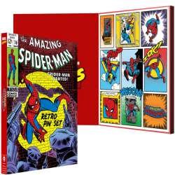 Spider-Man Retro Pin Set