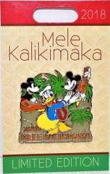 Mickey, Minnie and Donald