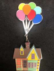 Up House with balloons