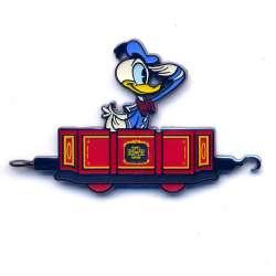 Donald Duck Saluting