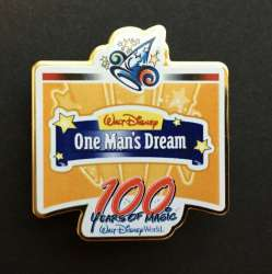 WDW - 100 Years of Magic Press Event Set - One Man's Dream