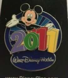 WDW - 2011 Dated - Mickey Mouse