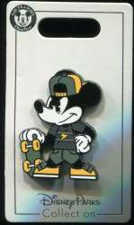 Mickey Mouse with Skateboard