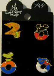 2000 Fab Four Character Icons Pin Set (4 pins)