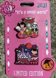 Small World 55th Pen Set - China and Parisienne Girls