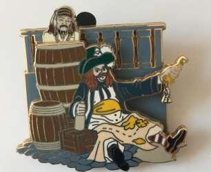 Jack Sparrow in Barrel