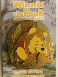 Winnie the Pooh covered in honey