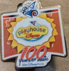 Playhouse Disney 100 years of magic pin