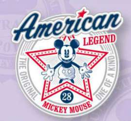 Mickey Mouse American Legend