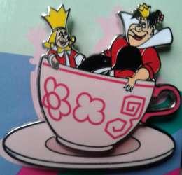Alice in Wonderland Quarterly Teacups