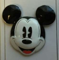 Sculpted Mickey Mouse Head