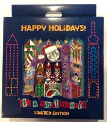 It's a Small World Holiday Facade Jumbo