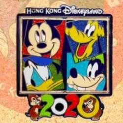 Mickey, Pluto, Donald and Goofy