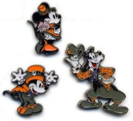 Mickey, Minnie and Goofy