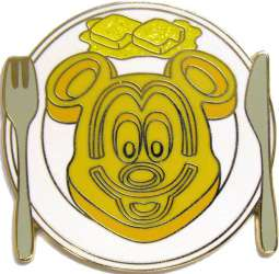 Mickey Mouse Breakfast Plate