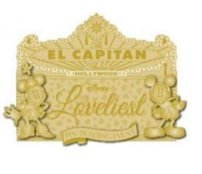 The Loveliest Pin Trading Event Diecast Marquee