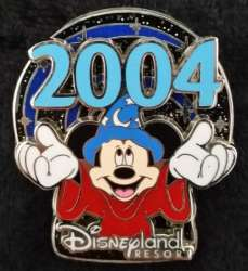 Sorcerer Mickey Holding 2004
