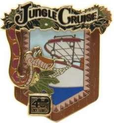 Kaa at Jungle Cruise