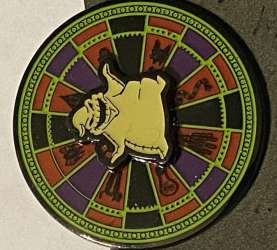 Oogie Boogie Spinning Roulette Wheel #2