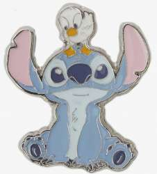 Stitch with Duckling on Head