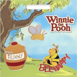 Pooh in Bee costume, Bee, and ''Hunny'' Pot