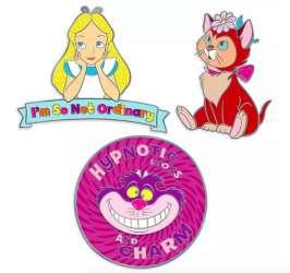 Alice In wonderland Oh My Disney 3 Pin Set