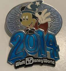 WDW - 2014 Dated - Sorcerer Mickey Mouse