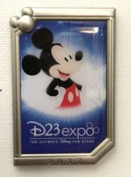 D23 Expo 2017 - Logo Pin - Mickey Mouse