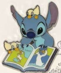 Stitch Reading with Ducklings