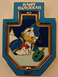 Donald Duck Dreidel