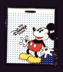 Mickey on Shopping Bag