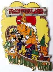 WDW - Frontierland - Big Thunder Mountain - Mickey & Goofy