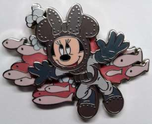 Minnie Mouse Diving