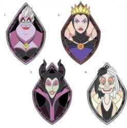Ursula, Evil Queen, Maleficent and Cruella De Vil