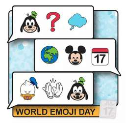 World Emoji Day 2020 - Mickey Mouse and Friends