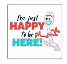 DLR/WDW - Happy to be Here - Forky - Toy Story 4
