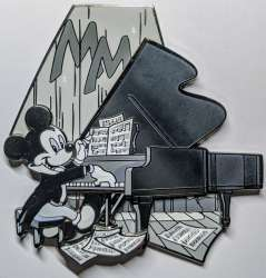 Pianist Mickey Mouse