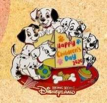 101 Dalmatians Puppies - Lucky, Rolly, Penny, Pepper, Freckles.