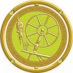 Aurora Spinner Pin