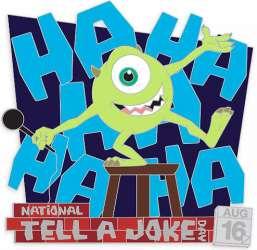 National Tell a Joke Day 2020 – Mike Wazowski