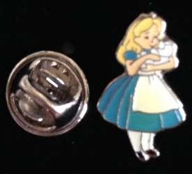 Alice in Wonderland Japanese Mini Pin Set