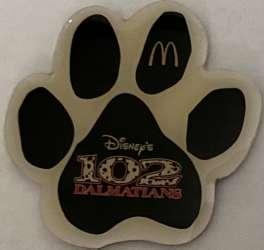 McDonald's - 102 Dalmatian - Paw