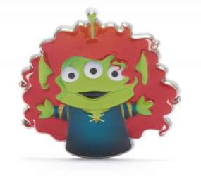 Little Green Man as Merida