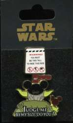 Star Wars - Judge Me By My Size