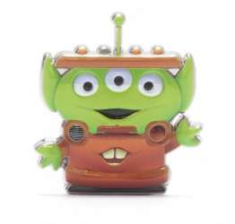 Little Green Man as Tow Mater