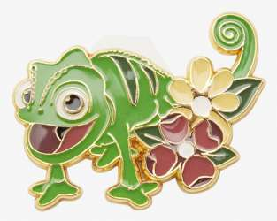 Loungefly Disney Tangled Pascal Flower Enamel Pin - BoxLunch Exclusive