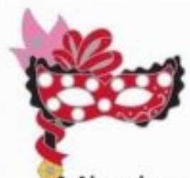 2020 Hidden Disney Series 1 - Carnevale Masks